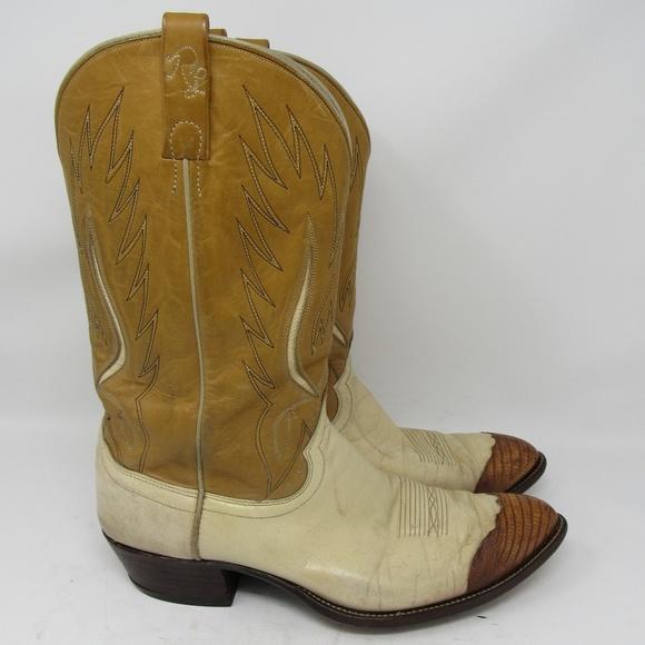 bd1ee038d01 Polo Ralph Lauren Western cowboy boots size 13D
